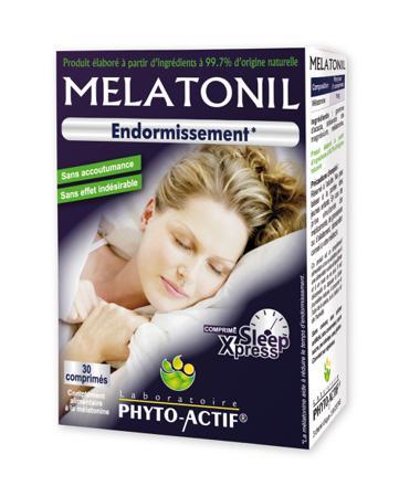 melatonine dormir
