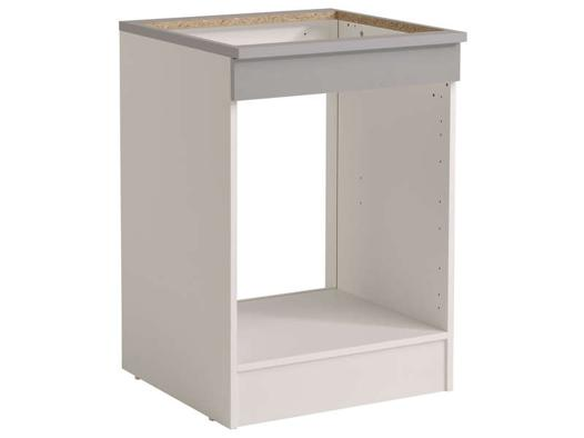meuble four et plaque