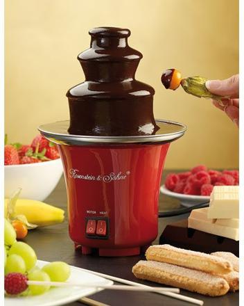 mini fontaine chocolat