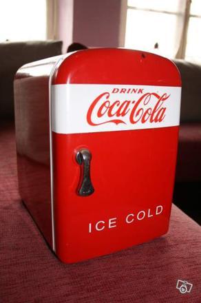 mini réfrigérateur coca cola