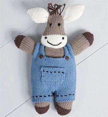 modele de doudou au tricot