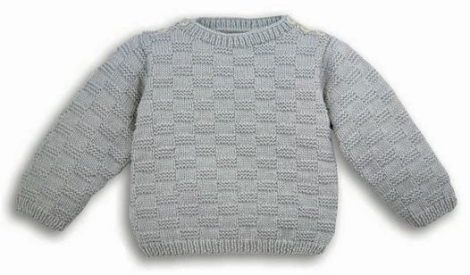 modele de pull a tricoter pour petite fille
