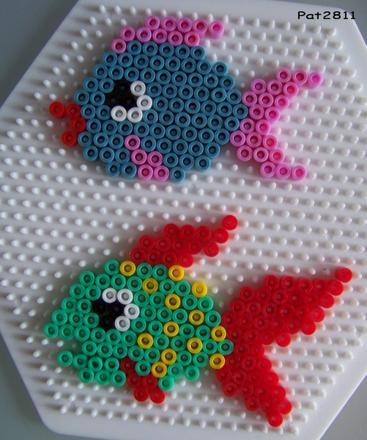 modele perle a repasser poisson