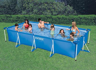 montage piscine intex rectangulaire