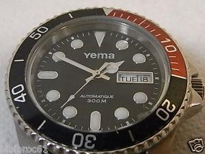 montre automatique yema