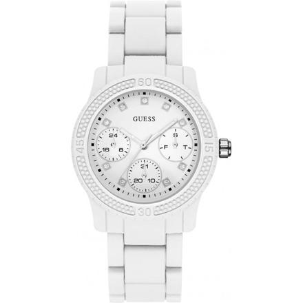 montre blanche femme