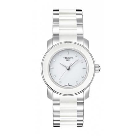 montre blanche pour femme