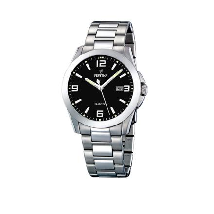 montre bracelet acier homme