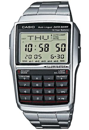 montre calculatrice casio