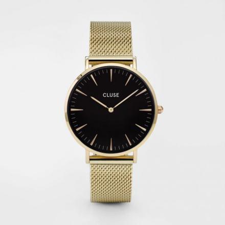 montre cluse doré