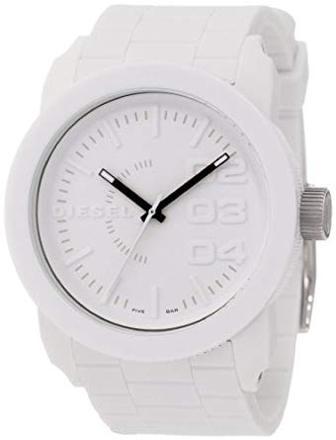 montre diesel blanche