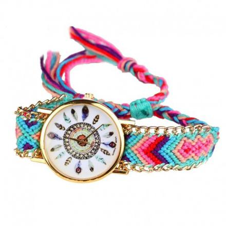 montre femme bracelet tressé