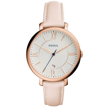 montre fossil femme cuir beige
