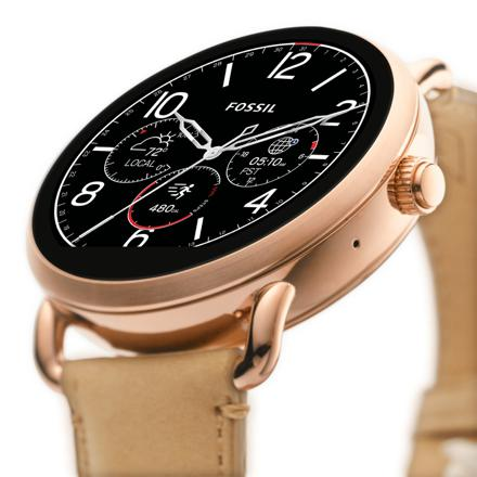 montre fossil q wander