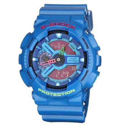 montre g shock bleu