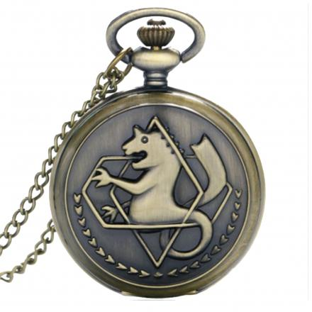 montre gousset full metal alchemist