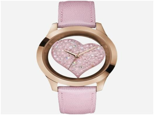 montre guess coeur