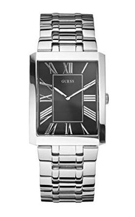 montre guess homme rectangulaire