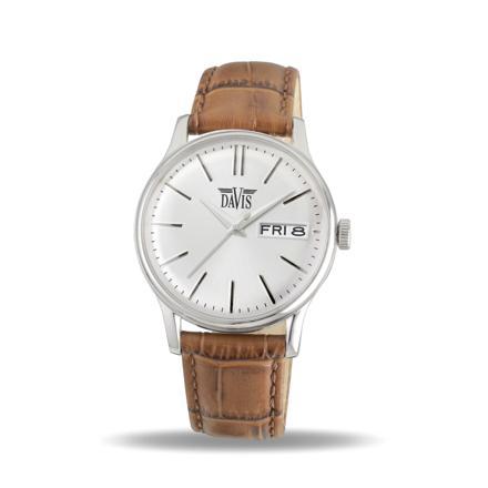 montre homme classique bracelet cuir