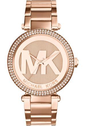 montre mk or rose