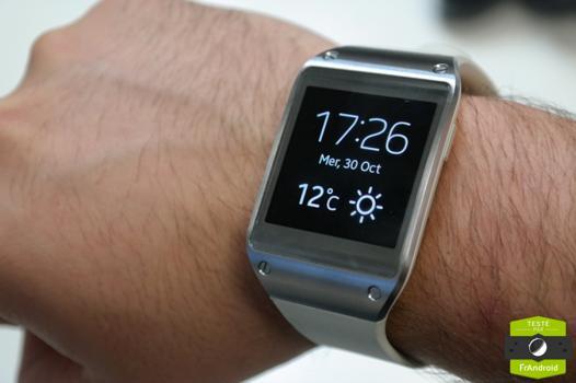 montre pour samsung