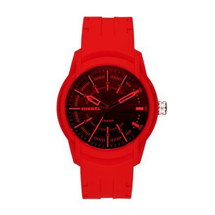 montre rouge homme