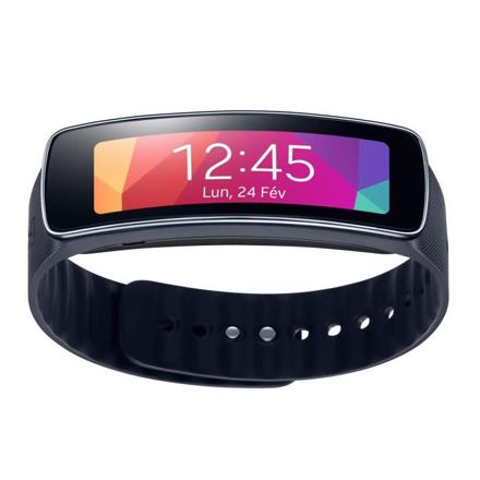 montre samsung gear fit noir