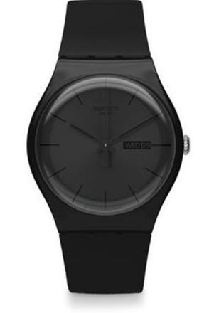 montre swatch noir