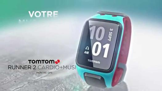 montre tomtom runner 2 cardio music
