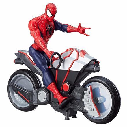 moto spiderman