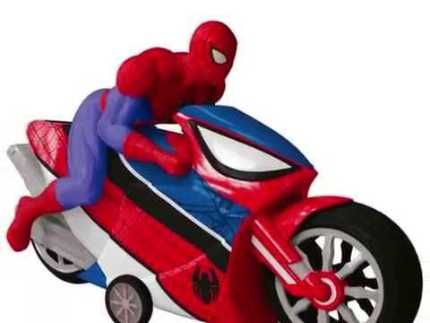 motos de spiderman