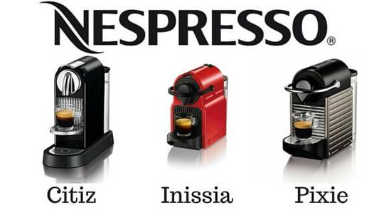 nespresso inissia ou pixie