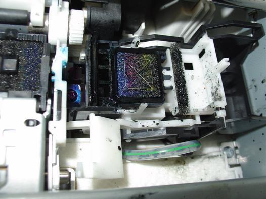 nettoyage tete imprimante
