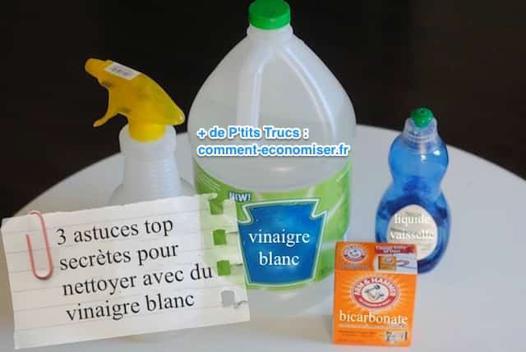 nettoyer au vinaigre blanc
