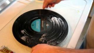 nettoyer disque vinyle