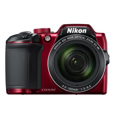 nikon coolpix b500 appareil photo rouge
