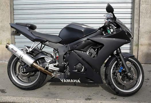 noir mat moto
