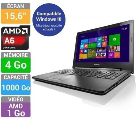 ordinateur portable amd