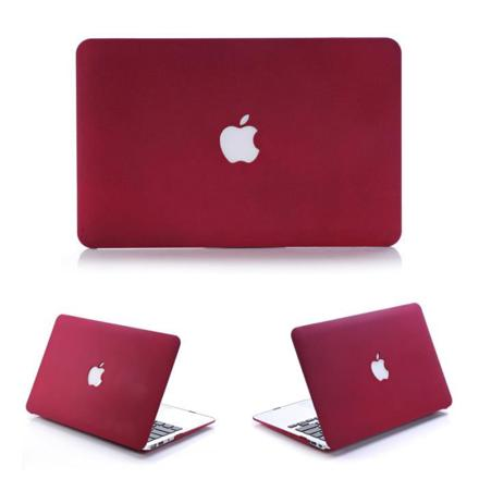 ordinateur portable apple rouge