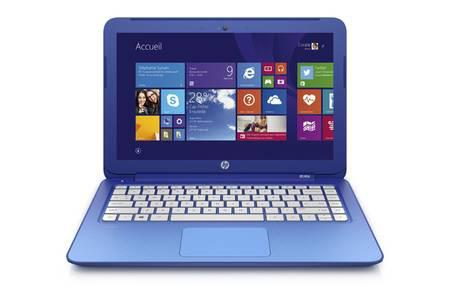 ordinateur portable hp bleu