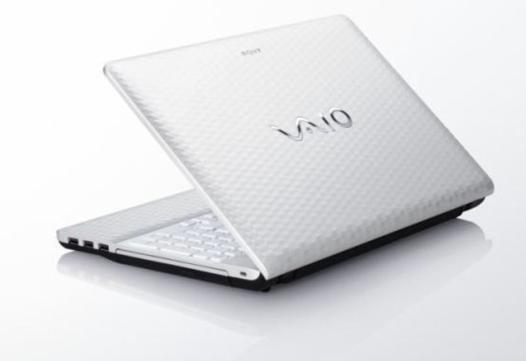 ordinateur portable sony vaio blanc