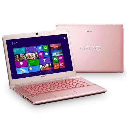 ordinateur portable vaio rose