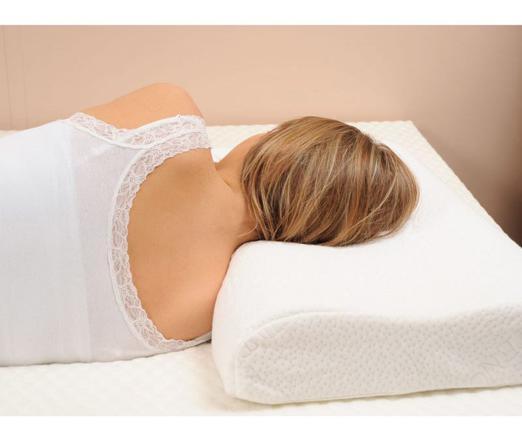 oreiller ergonomique pour douleurs cervicales