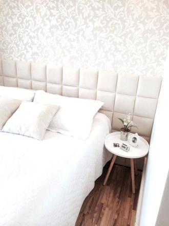 papier peint chambre blanc