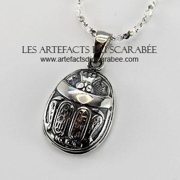 pendentif scarabée egyptien