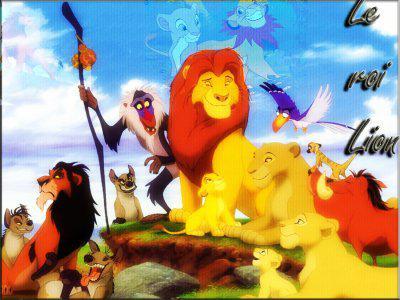 perroquet le roi lion