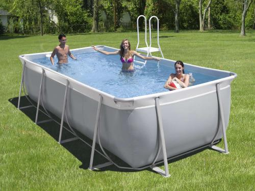 piscine hors sol rectangulaire tubulaire
