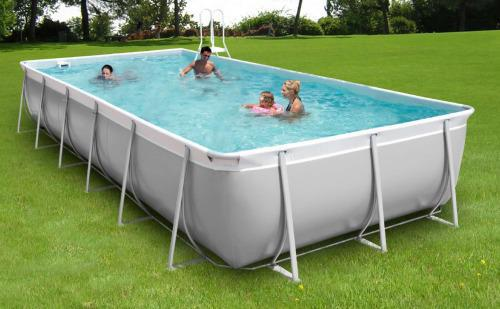 piscine rectangulaire hors sol tubulaire