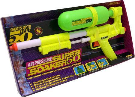 pistolet super soaker