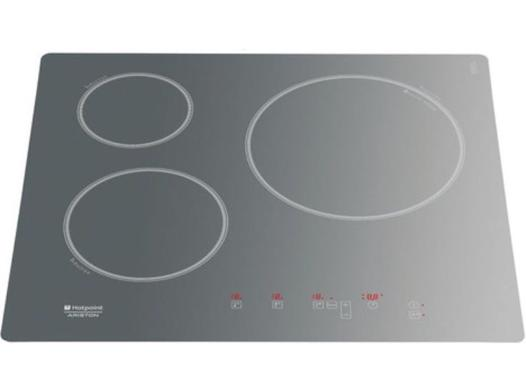 plaque de cuisson induction grise